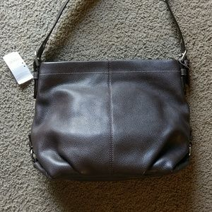 NWT!!  Authentic Coach Leather Bag!!